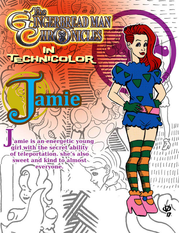 The Gingerbread Man Chronicles... in technicolor 6