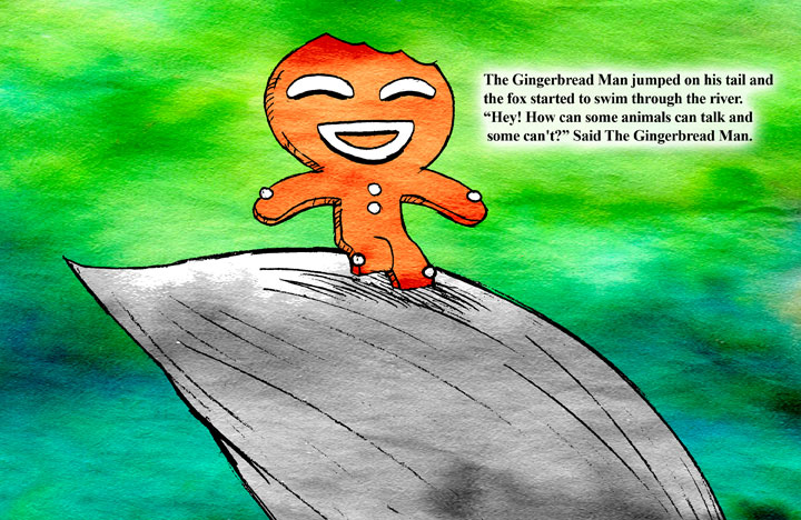 The Gingerbread Man page18