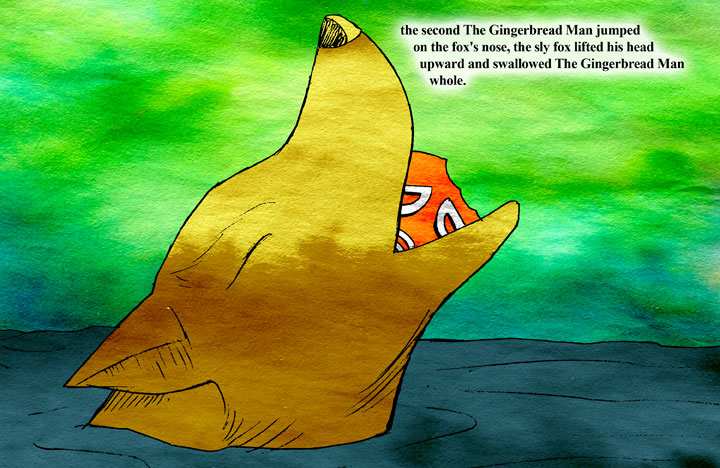The Gingerbread Man page 21