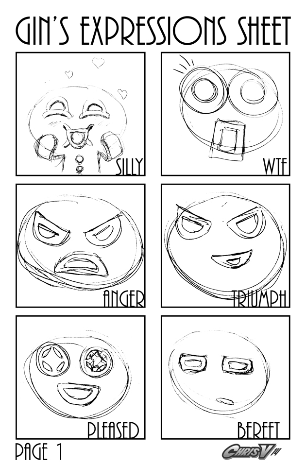 gin's expressions sheet page 1