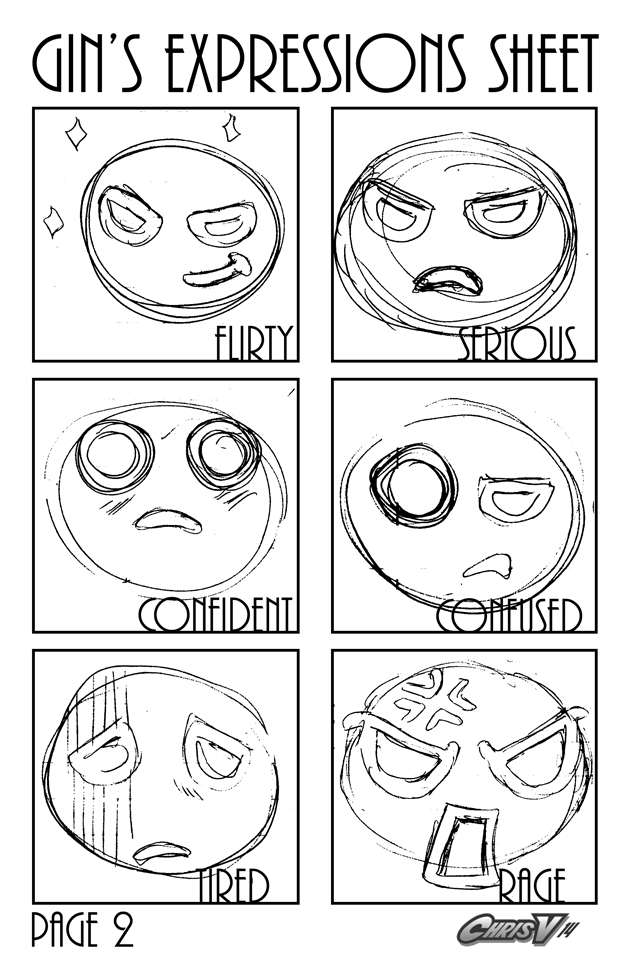 gin's expressions sheet page 2
